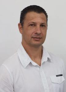 Foto do secretário municipal de educação professor Fabiano Oliveira Novais