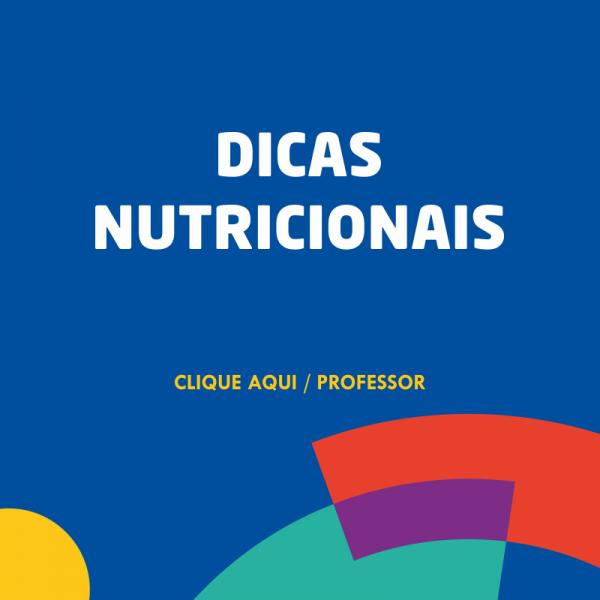 Dicas Nutricionais