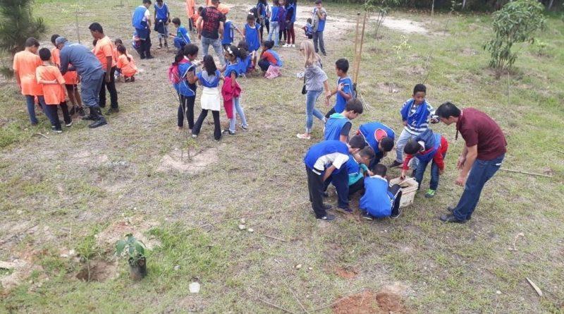 Secretarias de Educação, Meio Ambiente e Itaquá Garden Shopping finalizam o programa ambiental de 2019.
