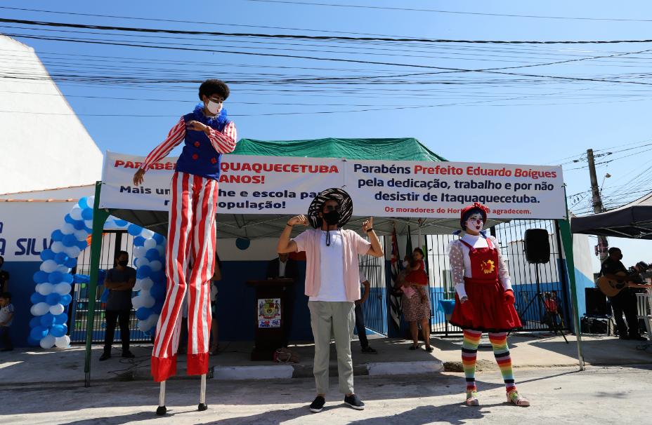 Prefeitura de Itaquá entrega duas escolas no Horto do Ipê